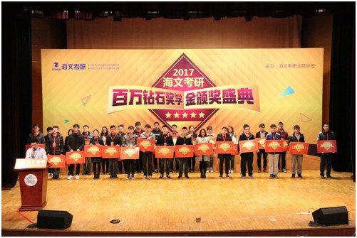 数千学生参加万学海文考研状元颁奖典礼
